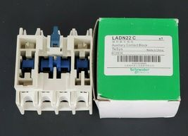 NIB SCHNEIDER ELECTRIC LADN22C AUXILIARY CONTACT image 3