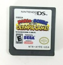 Mario and Sonic At The Olympic Games Nintendo DS Game Cartridge Only Tested  - $7.91