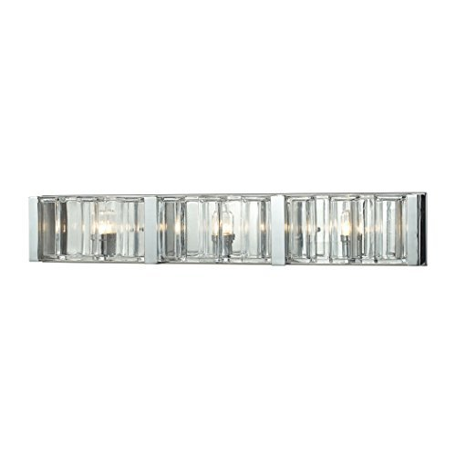 "ELK Lighting 11517/3 Vanity-Lighting-fixtures, 5 x 29 x 4"", Chrome"