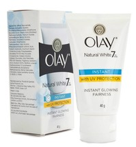 Olay Natural White  Instant Glowing Fairness Cream, 40gm - $8.90