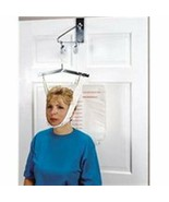 Drive Cervical Traction Set Over The Door Neck Back Head Support Kit 13004 - $25.99