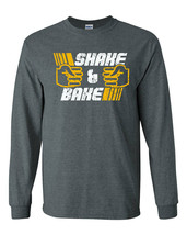 467 Shake and Bake Long Sleeve Shirt race car ricky bobby costume Talladega new - $19.99+