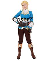 The Legend of Zelda Breath of the Wild Princess Zelda Costume Cosplay Halloween  - $145.00
