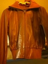 Gap leather JACKET SIZE xs - $21.51