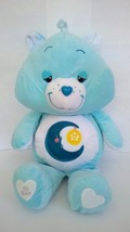 "2007 Large Care Bears Bedtime Soft Blue Pillow Plush Stuffed Doll 25"" 25... - $22.27"