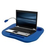 Laptop Desk Stand Computer Sofa Bed Tray Portable Table Cup Holder w Wor... - $394,69 MXN