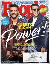 People Magazine En Espanol Dec 2017 Puerto Rican Luis Fonsi Daddy Yankee... - $7.79