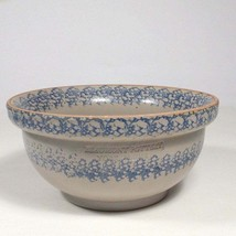 Primitive Salt Glazed mixing bowl Beaumont Pottery of Maine rustic farmh... - $69.52