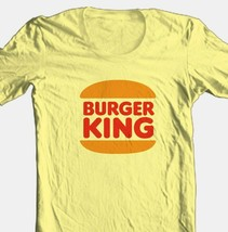 Burger King T-shirt Free Shipping retro 80s fast food 100% cotton graphic tee image 1