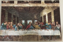 Chamber Art Jigsaw Puzzle The Last Supper 1000 Pieces 28.9 x 20 in. with Poster image 2