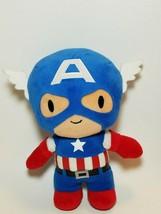 """Marvel  9"""" Captain America Plush Doll Universal Studios Parks The Avengers - $11.83"""