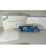 Danbury Mint 1929 Cord L-29 Special Coupe 1:16 Diecast - $64.34