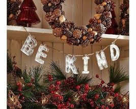 ED On Air Vintage Holiday Phrase Garland by Ellen DeGeneres, BE KIND - $19.79