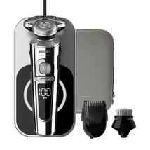 Philips Series 9000 Prestige SP9863/14- Shaver Tray Of Charging QI, Brush - $1,174.41