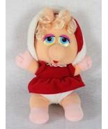 "Henson Baby Miss Piggy Stuffed Animal Plush 1987, 11"" Tall - $9.89"