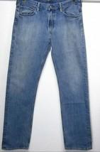 Polo Ralph Lauren 867 Classic Straight Fit Leg Men's (36x34) Medium Blue J EAN S - $47.62