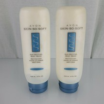 Avon Skin So Soft Age Defying Body Wash Renew and Refresh New Old Stock 2003 x2 - $19.79