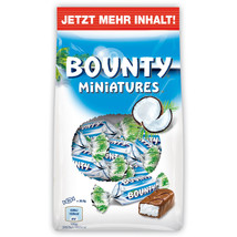 Bounty Mini Miniatures Coconut Candy Made in GERMANY -150g - $5.69