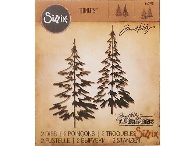 Sizzix Tim Holtz Thinlits Woodlands Die Set #660978