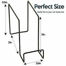 Zone Tech Hard Hat Hooks/Rack - Premium Quality Sturdy Steel Over the Seat Multi image 4