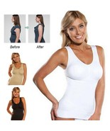 Wireless Cami Tank Top SALE Slim Up Lift Shaper Body Shaping Bra Comfort... - $8.95
