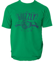 The grizzly bear t shirt camping mountanis camp S-3XL - $12.78+