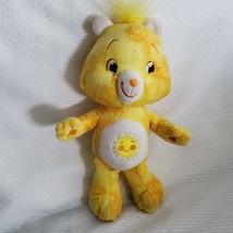 "Care Bears Tie Dye Yellow Funshine Bear SUN 10"" Plush Toy 2007 Special E... - $14.84"