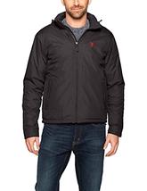 U.S. Polo Assn. Mens Standard Fleece Lined PU Piped Jacket - Choose SZ/C... - $44.93+