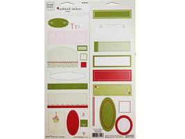 "Heidi Grace Christmas Cardstock Shapes Sticker Set ""Jolly & Bright"" #12-73112"