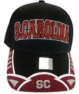 South Carolina Men's 2-Tone Curved Brim Adjustable Baseball Cap Black/Bu... - $11.95