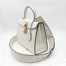 100% Authentic Christian Dior Addict Tote White Calfskin Bag GHW RARE image 3