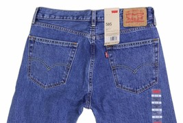 NEW LEVI'S STRAUSS 505 MEN'S ORIGINAL STRAIGHT LEG STONEWASH JEANS 505-4891