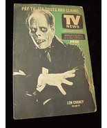 TV News July 6 1975 Lon Chaney Phantom Of The Opera - $19.99