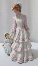 "Lenox  SUNDAY IN THE PARK 9"" Bisque Porcelain Figurine Mother & Child - $30.00"