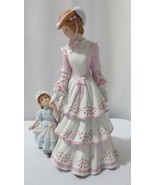 """Lenox  SUNDAY IN THE PARK 9"""" Bisque Porcelain Figurine Mother & Child - $30.00"""