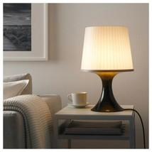 "IKEA LAMPAN Table lamp with LED bulb, brown, gray, 18 "" - $37.61"