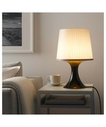 "IKEA LAMPAN Table lamp with LED bulb, brown, gray, 18 "" - $37.61"