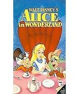 Alice in Wonderland (VHS, Clamshell) Black Diamond Edition - 036 - $23.38