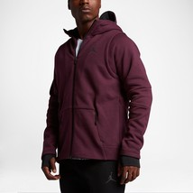Nike Men's AIR JORDAN Shield Full-Zip Hoody NEW AUTHENTIC Cherrywood 809... - $79.98