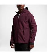 Nike Men's AIR JORDAN Shield Full-Zip Hoody NEW AUTHENTIC Cherrywood 809... - $79.98