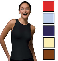 SPANX 982 On Top and In Control Sophisticated Sleeveless Crew Shapewear - $29.69+