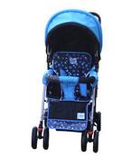 DOUBLE Stroller BLUE Baby Strollers BEBELOVE 2 Seats Multiple Multi Twin... - $79.99
