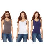 Rhonda Shear Seamless Tank with Convertible Neckline (HSN 560859) - $17.00