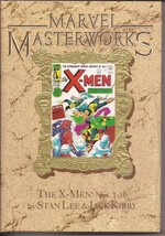 Marvel Masterworks Gold Variant HC The X-Men Nos. 1-10 Stan Lee Jack Kirby NEW - $49.95