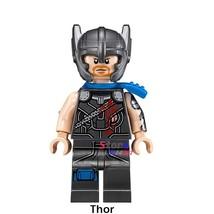 Single Sale Superhero Gladiator Thor Marvel Thor Ragnarok Minifigures Block - $3.95