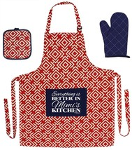 Christmas Gift for Mimi Everything is Better in Mimi's Kitchen Funny Apr... - $32.21