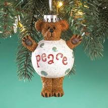"Boyds Bearstone ""PEACE"" #4016674- 4"" Ornament- 2010 - $26.99"