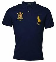 Polo Ralph Lauren Men Classic Fit Mesh Polo Shirt, Darky Navy, L 3020-6 - $62.36