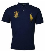 Polo Ralph Lauren Men Classic Fit Mesh Polo Shirt, Darky Navy, L 3020-6 - $62.36