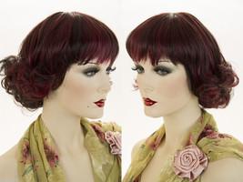 Medium Straight Blonde Brunette Red Wigs  - $47.99